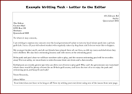 How To Write A Letter Editor Letter Idea 2018