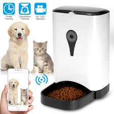 Automatic Pet Feeder Food Dispenser for Dogs&Cats Features Portion Control