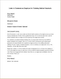 Medical Termination Letter Pin By Alizbath Adam On Letters Pinterest Lettering And Medical