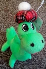 thistle scottish gift lochness monster soft toy uk gift