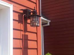 hampton bay exterior wall lantern with built in electrical outlet gfci. outdoor light with electrical outlet | rickevans homes intended for wall pertaining; hampton bay exterior lantern built in gfci w