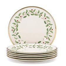 lenox holiday china. Modren China Lenox Holiday Set Of 6 Salad Plates To China