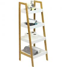propped 4 tier shelving unit jpg