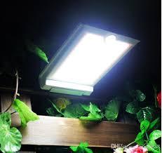 2017 Solar Power Fence Gutter Light Lamp 3 Led Garden Lights Led Solar Powered Garden Lights