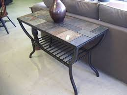 15 best collection of slate sofa tables