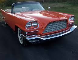 Image result for 1957 chrysler 300c convertible