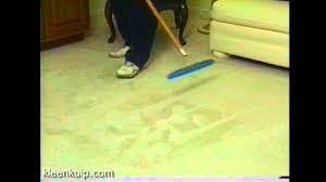 carpet rake. carpet groomer, grandi groom, perky groom rake - hydro-force youtube