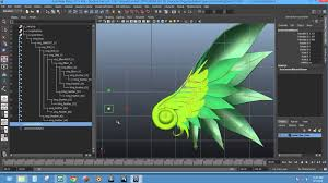 rigging basic wings rig autodesk maya you