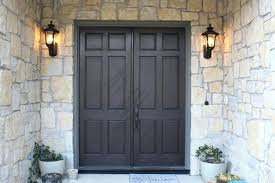 black glass front door. Stained Front Doors Door Wood Stain Black Glass T