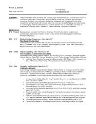 Ideas Of Sample Resume For Jewelry Sales Manager Augustais For