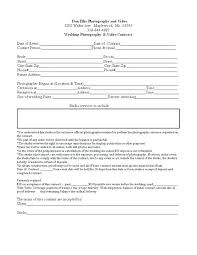 Music Contract Templates Music Contract Templates Free Word ...
