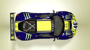 Monster Vr46 Kessel Racing Valentino Rossi Ferrari 488 Gt3 Racedepartment