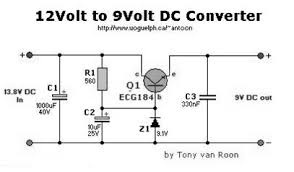 dc to dc converter 12v 9v circuit diagram simple schematic collection 12V Hydraulic Pump Wiring Diagram this basic schematic diagram of dc to dc converter shows hiw to convert 12v supply to 9v suplly