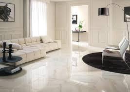 living room ideas with white tile floor