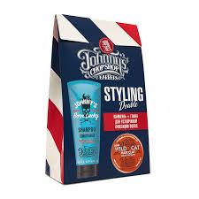 Подарочный набор Johnny`s Chop Shop Style Шампунь ...