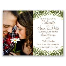Save The Dates Wedding Tis The Season Holiday Card Save The Date Anns Bridal Bargains