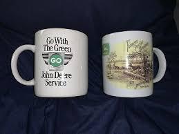 Ay, ceratostomella, we placebos have many a flippant. Lot Of 2 John Deere Coffee Mug Cups 1882 Logo Gibson 1892 Farmers Companion 14 99 Picclick