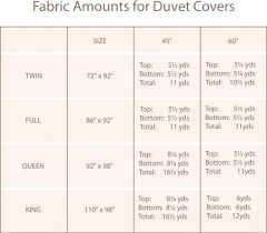 Cover Size Chart Duvet Cover Size Chart South Africa Bedowntowndaytona Com