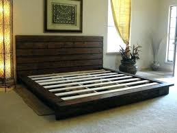 King Size Platform Bed Plans Easy Diy Ideas With Storage And