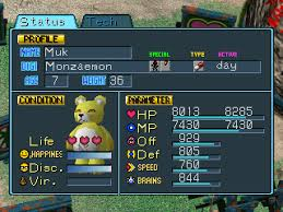 Digimon World 1 Digivolve Chart Digimon World Part 36 Making The Obtuse Less So Stats