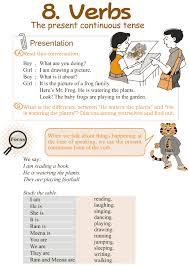 Good Grammar » Grade 3 Grammar Lesson 8 Verbs – the present ...