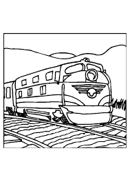 Kleurplaat Trein Afb 10975 Images