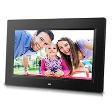 10 inch digital photo frame with remote control high resolution 1024x600 lcd screen built