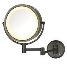 bronze makeup mirrors bathroom