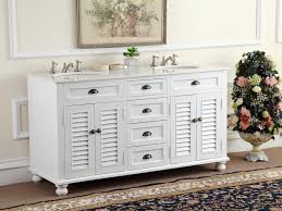 White Double Bathroom Vanities Adelina 60 Inch Antique Double Sink Bathroom Vanity Glennville