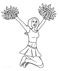 Free Printable Cheerleading Coloring Pages Coloring Pages On Free