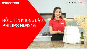 Nồi Chiên Không Dầu Philips 4.5 Lít HD9216