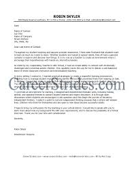 Ultimate Resume Cover Letter For Teaching For Your Blank Resume