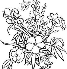 free coloring pages flowers plus free printable coloring pages easy coloring pages free flower coloring