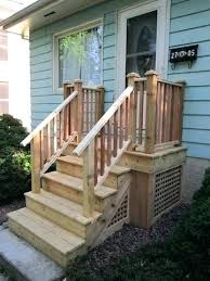 How to build a deck video Concrete Patio Build Porch Steps How Nomadsweco Build Porch Steps Image Titled Build Porch Steps Step Pre Built