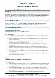 Statistical Programmer Sample Resume Amazing Actuarial Analyst Resume Samples QwikResume