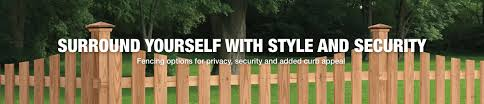 Simple and cheap privacy fence design ideas Horizontal Fencing Styles The Home Depot Fencing The Home Depot