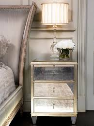 mirrored nightstand. renowned mirrored nightstand collections irresistible design featuring three tier drawers