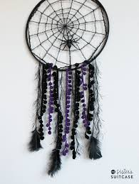How To Make A Spider Web Dream Catcher Easy Halloween Crafts for Teens Happiness is Homemade 92
