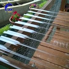 corrugated plastic roof