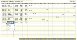 Business Expenses Template Business Expenses Spreadsheet | Inzare ...