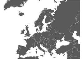 Kleurplaat Kaart Europa Afb 8299 Images