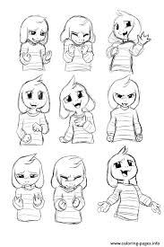 undertale coloring book coloring pages undertale colouring