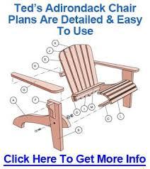 Rocking Adirondack Chair Template adirondack rocking chair plans
