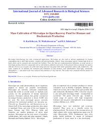 Design Of Raceway Ponds For Producing Microalgae Pdf Mass Cultivation Of Microalgae In Open Raceway Pond For