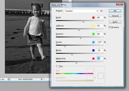 kleurenfoto zwart wit maken online