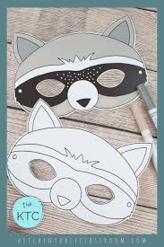 1545 x 1600 png 89 кб. Woodland Animal Masks The Kitchen Table Classroom