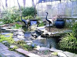 Large Size Of Backyard Pond Waterfalls Waterfall Kits For Sale Diy Outdoor Water Wall Build And