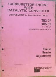 Peugeot Electronic Carburation Manual TU3CP TU5CP MCA101GB | Jacks ...