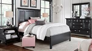 Queen Black Bedroom Furniture Sets : Womenmisbehavin.com - Black ...