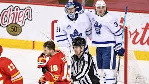 Toronto maple leafs vs calgary. Mitch Marner Has Game Winner As Toronto Maple Leafs Edge Calgary Flames Tsn Ca